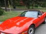 1989 Red Corvette Bill N