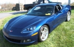 2005 Blue Corvette
