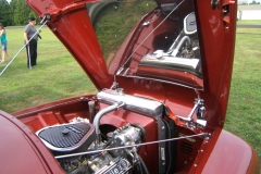 1954 Red Ford Pickup Balloon Fest 2011