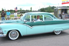 1955 Green Ford Fairlane Bert.Caroline