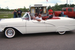 1955 Oldsmobile Starfire Convertible Sue