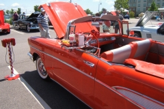 1957 Red Chevrolet Bel Air Convertible Tony