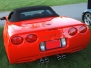 1999 Red Corvette Convertible
