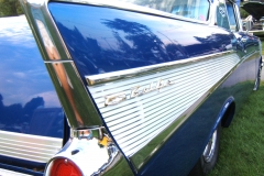\'57 Chevy Blue John Hebert 2011