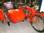 1920 Indian Power Plus Motorcycle with Princess Sidecar