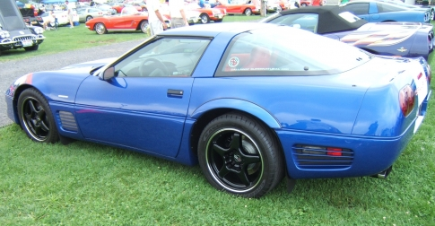 Blue Corvette, Randy RI