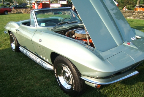 1966 Corvette Sting Ray Convertible, Cappy MA