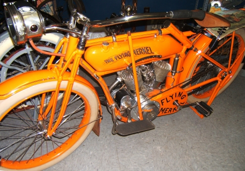 1914 Flying Merkel Motorcycle